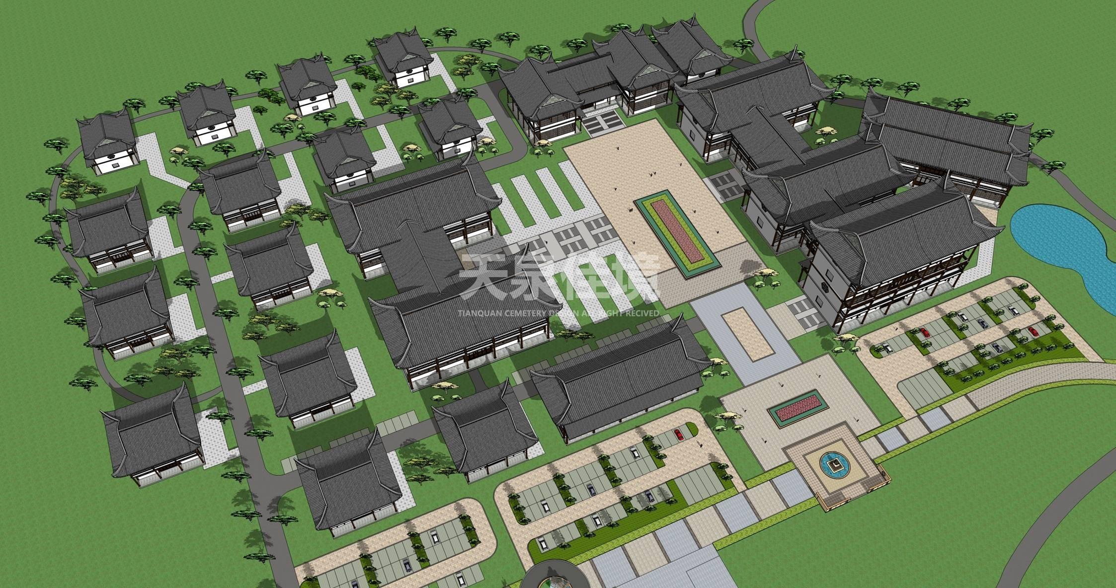 贵州都匀人文纪念陵园设计