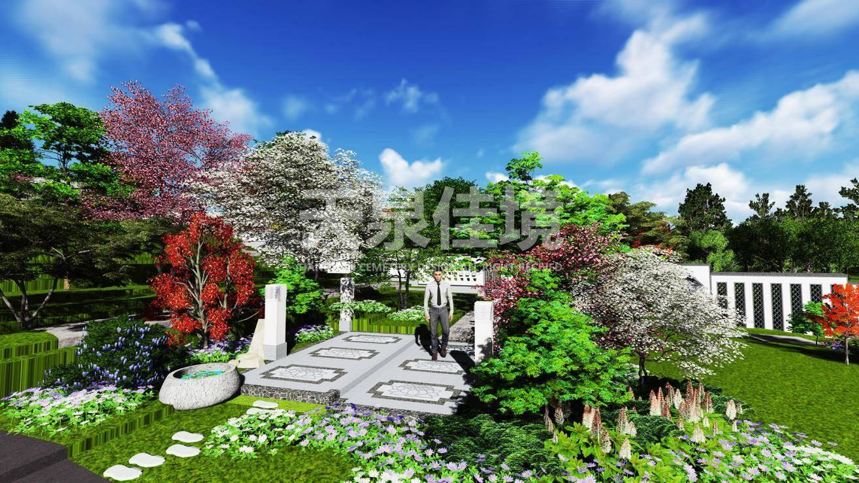 墓地设计效果图图片