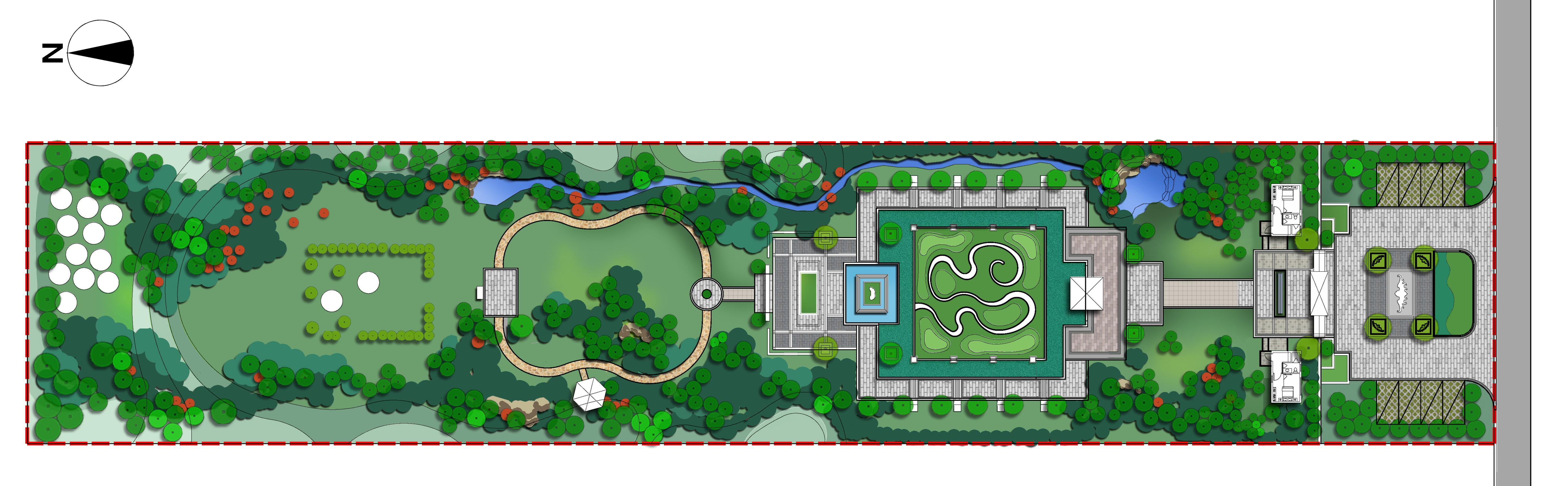 首页 私人定制设计              项目概况 周口家族墓设计在传统陵园