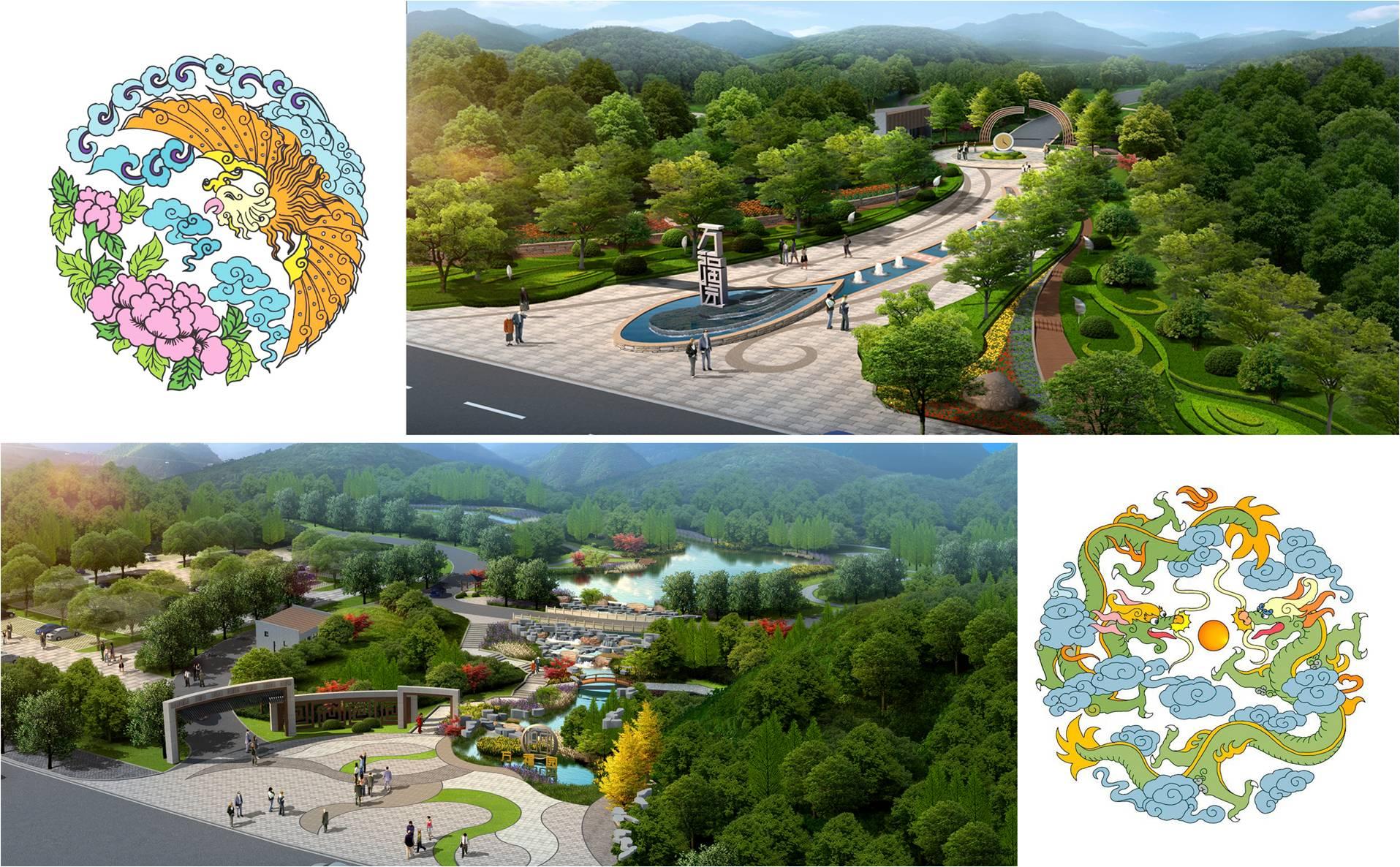 公墓风水设计-墓地风水设计—天泉佳境图片