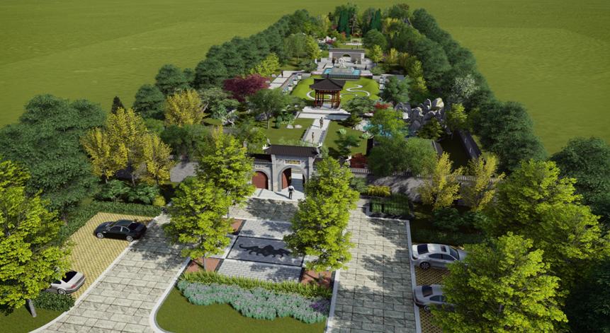 陵园设计 公墓设计—天泉佳境