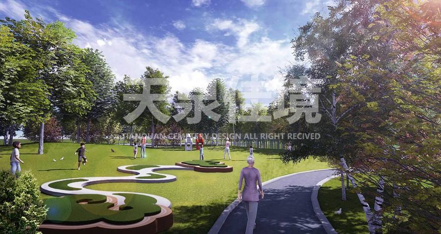 衡阳万福园陵园设计