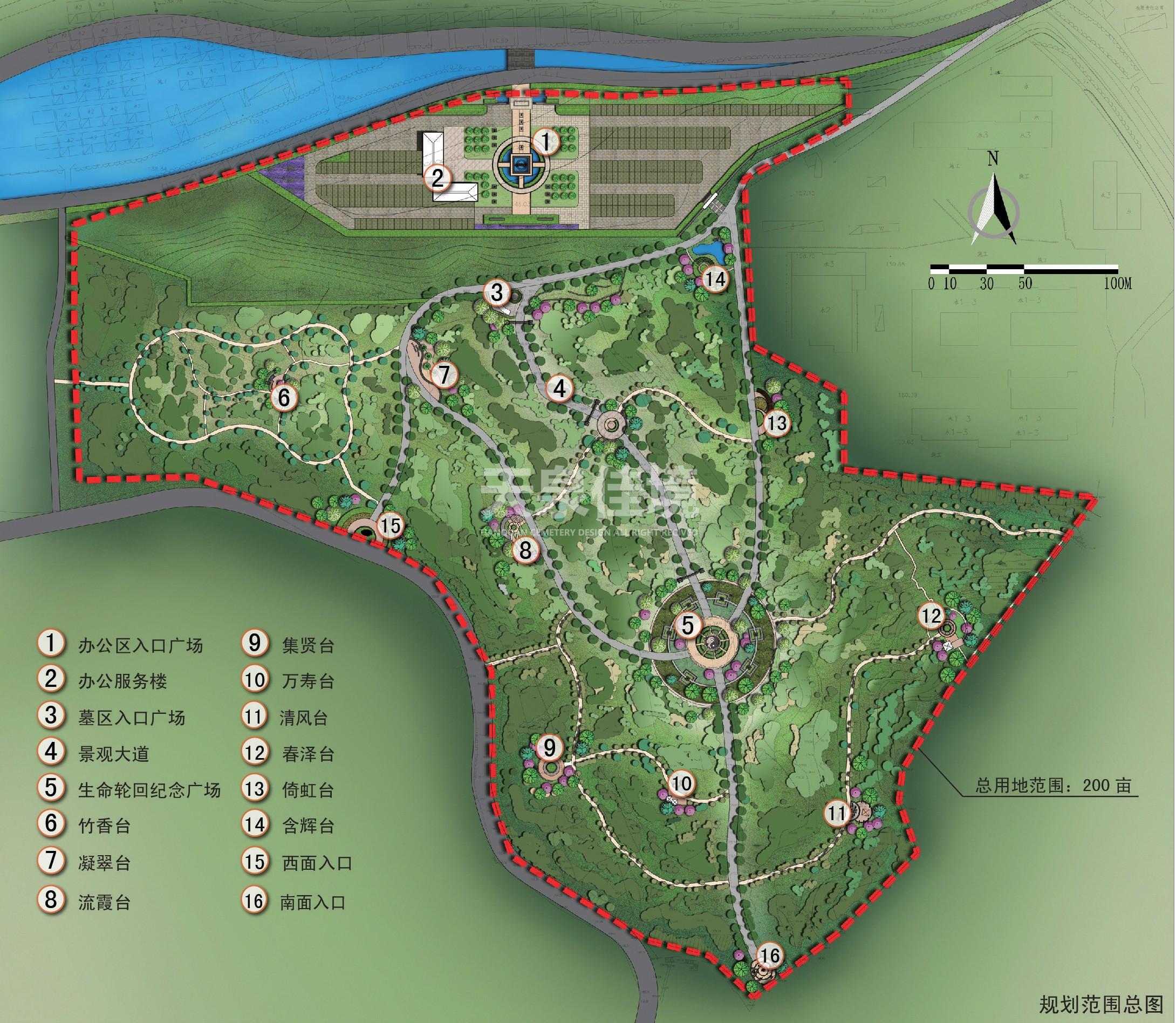 墓地设计 公墓设计—天泉佳境图片