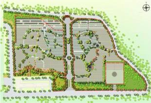 浙江公墓设计|浙江公墓规划|浙江墓地设计案例——图片